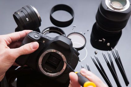how to clean camera sensor canon